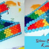 Glitter Rainbow Dash Kandi Choker