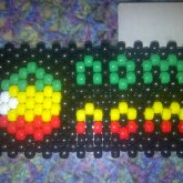 Rasta Pacman/Pot Man Kandi Handcuffs/collar Part One