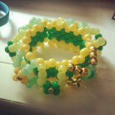 Green/gold Cuff From Caitlin 2