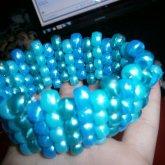 Blue Striped Cuff