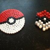 Pokemon Ball Peyote Stitch And Purler Beads