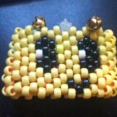 Yellow Smiley Face Cuff