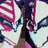 Full Face Kandi Bleach mask!