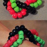 Toxic Twist Kandi Bracelet