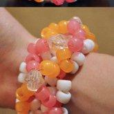 Orange & Pink Sherbet Glow 3D X-Base