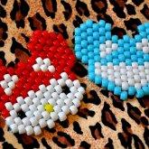 Mini Deadmau5 Head & Hello Kitty Wearing Deadmau5 Hat