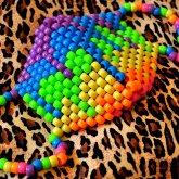 'Melt The Rainbow' Kandi Surgical Mask