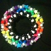 Rainbow Disk Cuff