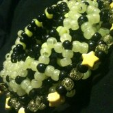Black And Yellow 3d Cuff
