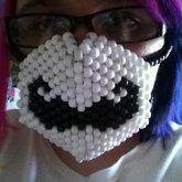 Mustache Kandi Mask
