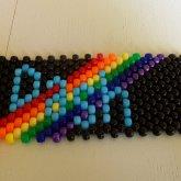 RainbowDash Flat Peyote Stitch