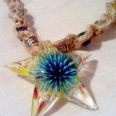 Hemp Sea Star Necklace.