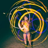 Atomic Fire Hoop!