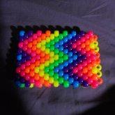 Rainbow Zig Zag Cuff