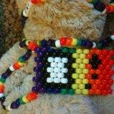 Rainbow Game Boy Necklace
