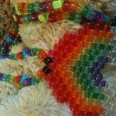 Translucent Rainbow Neckalce