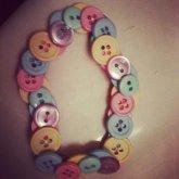 Pastel Button Kandi