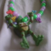 Tmnt Parachuting Donatello Necklace