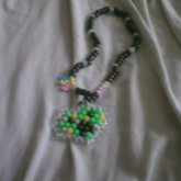 Creeper Heart Necklace :D Ssssssss BOOM