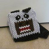 3D Mini Panda Domo Bookbag:3