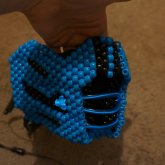3D Sub Zero Mask With Lights