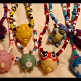 Vintage Pokemon Toys Necklaces <3