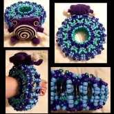 Poliwhirl Slinky Cuff <3
