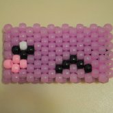 Kawaii Glow In The Dark Kandi Cuff 2