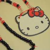 Hello Kitty Big KANDI Necklace