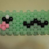 Kawaii Glow In The Dark Kandi Cuff