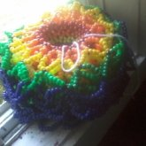 Rainbow Epic Cuff In Progress