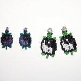 Miss Lennon's Yin Yang Turtle Earrings