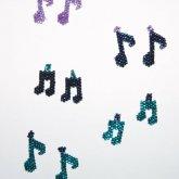 Music Note Earrings