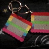 Equality Perler Keychains