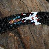 Galaga Retro Loom Beaded Bracelet