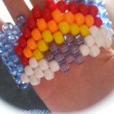 Rainbow Cuff (: