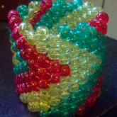 Rasta Arrow Cuff