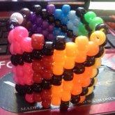 Rainbow Swirl Cuff