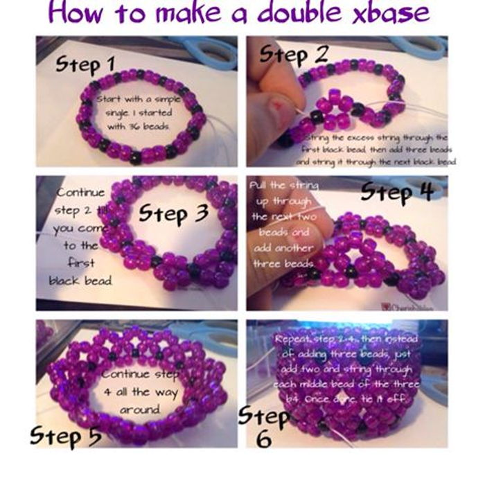 How to make a double xbase cuff by plurmama_4ever - Kandi Photos ...