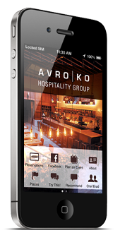 [AVRO|KO iPhone application.]