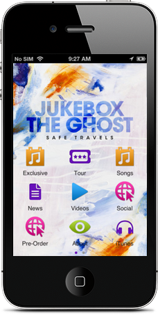 Jukebox the Ghost/Yep Roc app