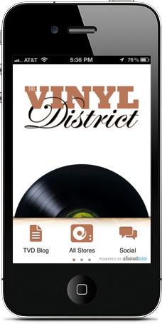 The Vinyl District app