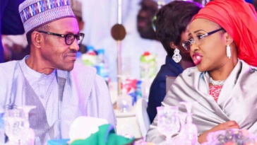 Did Aisha Mocked Her Husband Buhari Over His 'Snatch Ballot Box & Pay With Your Life' Comment? 11