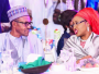 Did Aisha Mocked Her Husband Buhari Over His 'Snatch Ballot Box & Pay With Your Life' Comment? 21