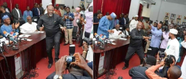 Atiku And Dino Melaye Surprises Audience With Dance Moves At PDP NEC Meeting [Video] 12