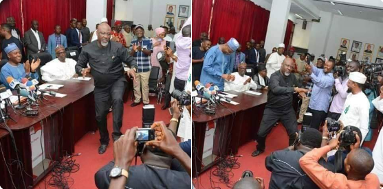 Atiku And Dino Melaye Surprises Audience With Dance Moves At PDP NEC Meeting [Video] 2