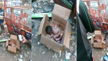 New Born Baby Found Dead After Being Dumped In A Carton In Anambra [Photos] 4