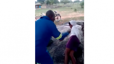 Traditional Chief Flogs Two Teenage Lovers In Public As Punishment [Photos/Video] 3
