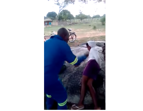 Traditional Chief Flogs Two Teenage Lovers In Public As Punishment [Photos/Video] 8