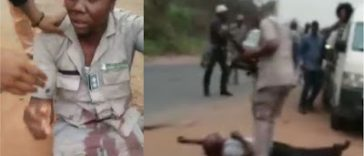 UPDATE: Customs Detains 4 Officers Involved In Killing Man In Viral Video 34